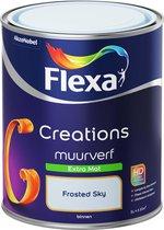 Flexa Creations - Muurverf Extra Mat - Frosted Sky - 1 liter