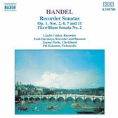 Handel: Recorder Sonatas / Czidra, Harsanyi, et al