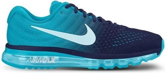 nike air max 2017 blauw heren