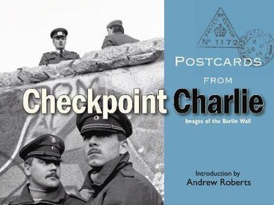 Boek cover Postcards from Checkpoint Charlie van