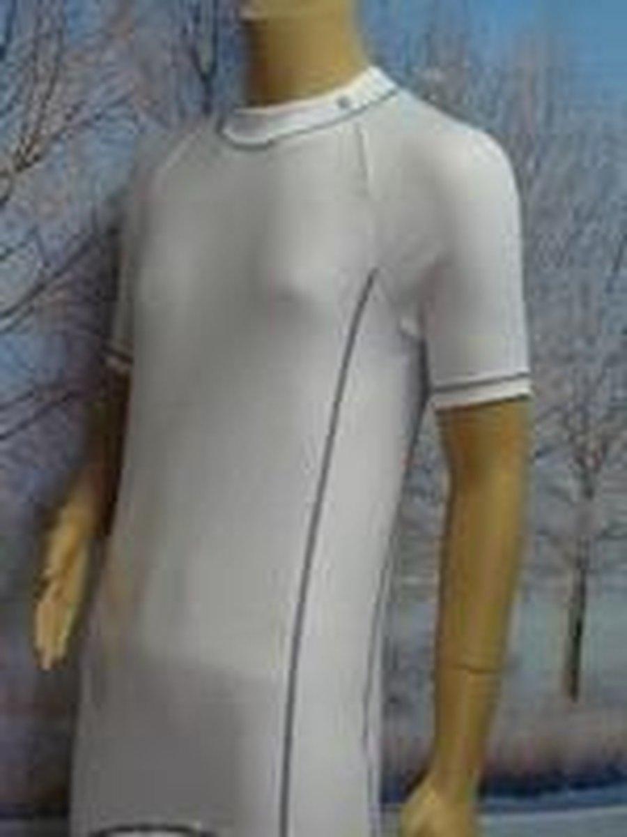 Ten Cate Heren Thermokleding Korte Mouw - Maat XL - Wit