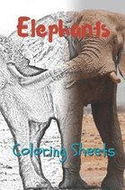 Elephant Coloring Sheets