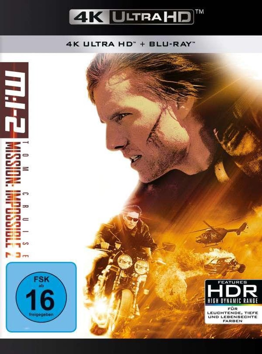 Mission: Impossible 2 (Ultra HD Blu-ray & Blu-ray)-