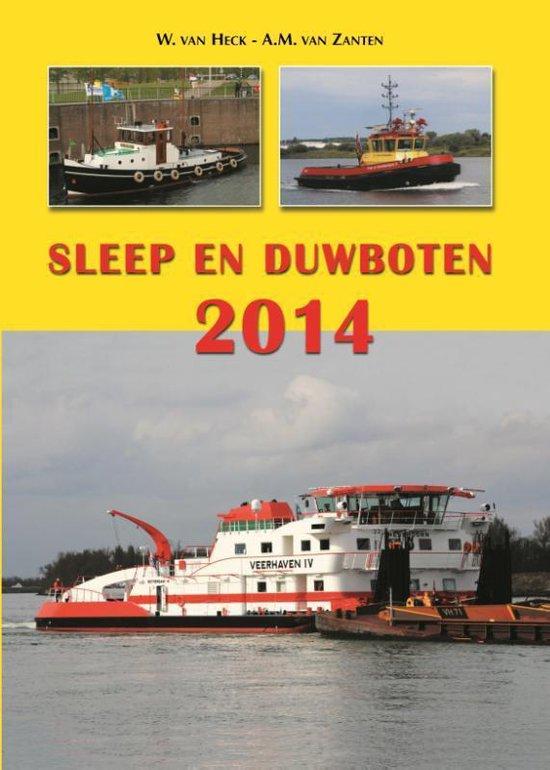 Sleep en duwboten 2014 - W. van Heck |