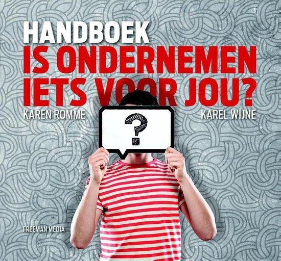 Handboek Is ondernemen iets voor jou? - Karen Romme | Fthsonline.com