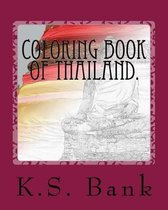 Coloring Book of Thailand.