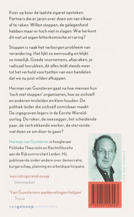 Stoppen - Herman van Gunsteren |