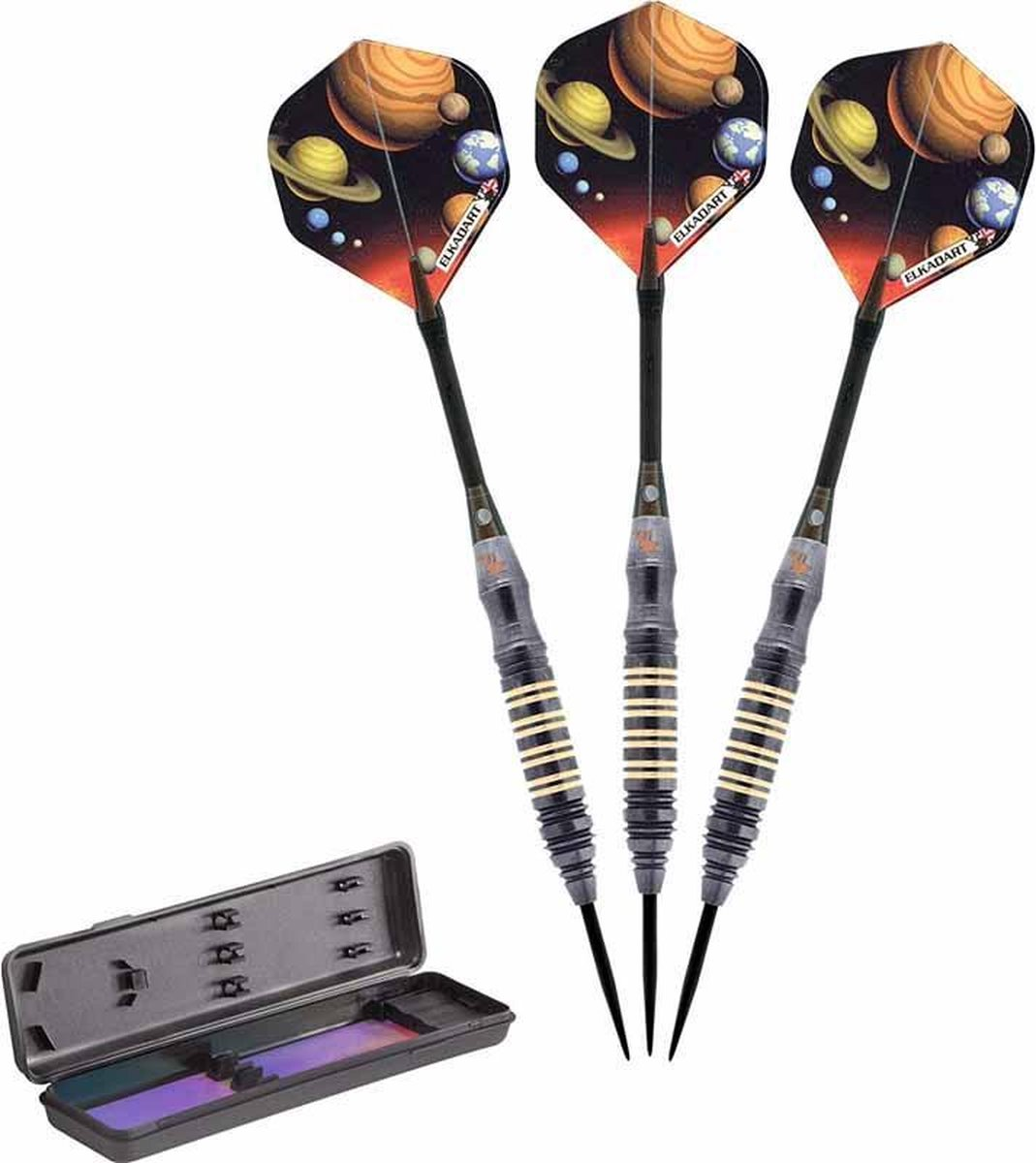 ABC Darts - Dartpijlen supergrip - Orbital space - 21 gram