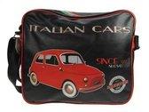 Italian Cars schoudertas