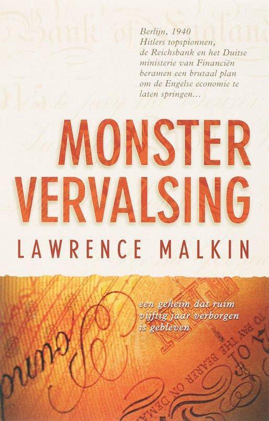 Cover van het boek 'Monstervervalsing'