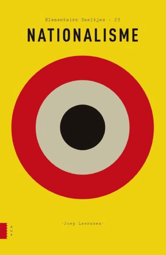 Boek cover Elementaire Deeltjes 23 - Nationalisme van Joep Leerssen (Onbekend)