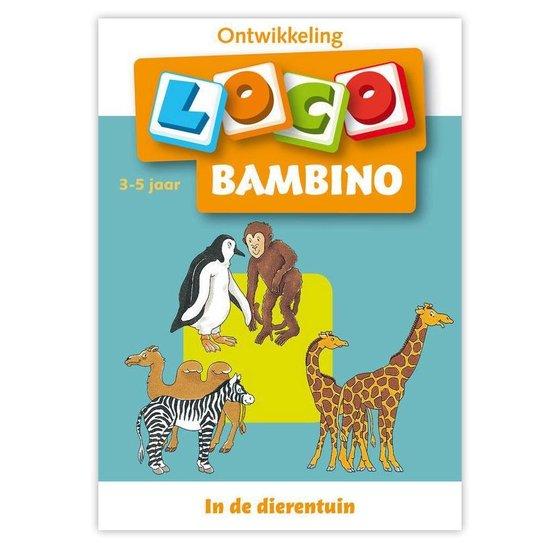 Boek cover Bambino Loco 3-5 jaar In de dierentuin van Michael Junga