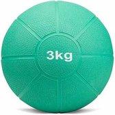 Matchu Sports - Medicijn ball - 3 kg - Groen