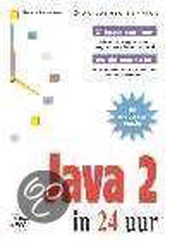Cover van het boek 'Java 2 in 24 uur'