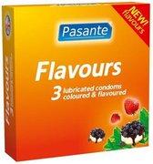 Pasante Flavours - 3 stuks - Condooms