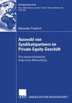 Auswahl von Syndikatspartnern im Private-Equity-Geschaft