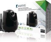 König SAS-IPCAM110B IP security camera Binnen Dome Zwart bewakingscamera