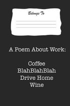 A Poem about Work