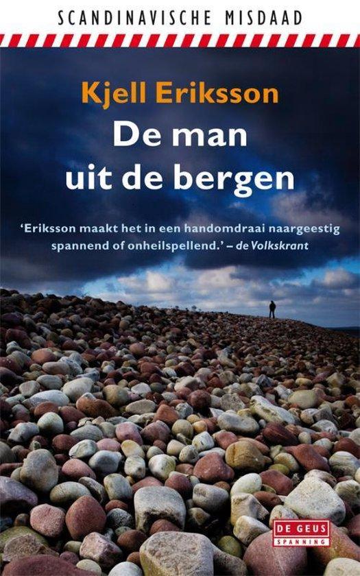 Cover van het boek 'De man uit de bergen' van K. Eriksson