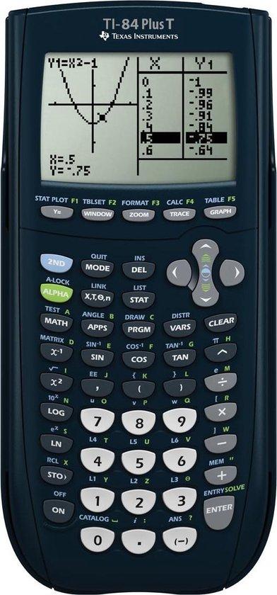 Afbeelding van Texas Instruments TI-84 Plus T - Grafische Rekenmachine - teacher pack 10 STUKS