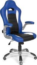hjh office Racer Sport - Bureaustoel - Gamingstoel -  Blauw / zwart
