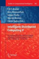 Intelligent Distributed Computing V
