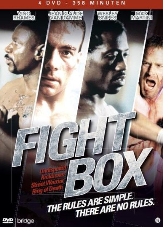 Cover van de film 'Fight Box'