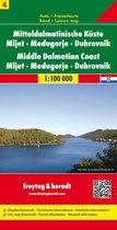 FB Dalmatische kust, blad 4 • Mljet • Meᵭugorje • Dubrovnik