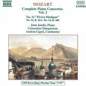 Mozart: Complete Piano Concertos Vol 2 / Jando, Ligeti