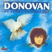Donovan 25 Years In Comcert