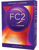 Femidom - 3 stuks - Vrouwencondooms