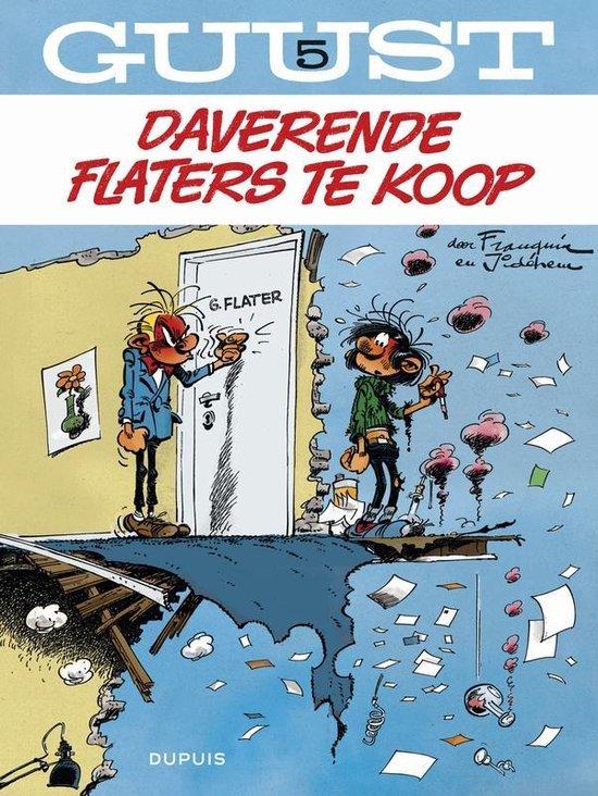 Guust Flater: 005 Daverende flaters te koop - André Franquin |