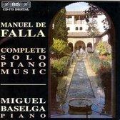 Piano Miguel Baselga - De Falla - Piano
