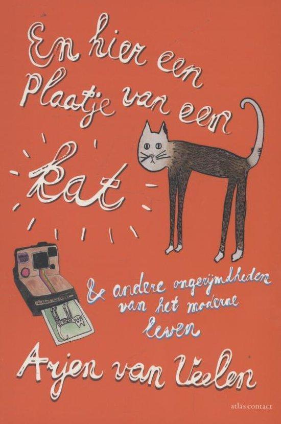En hier een plaatje van een kat & andere ongerijmdheden van het moderne leven