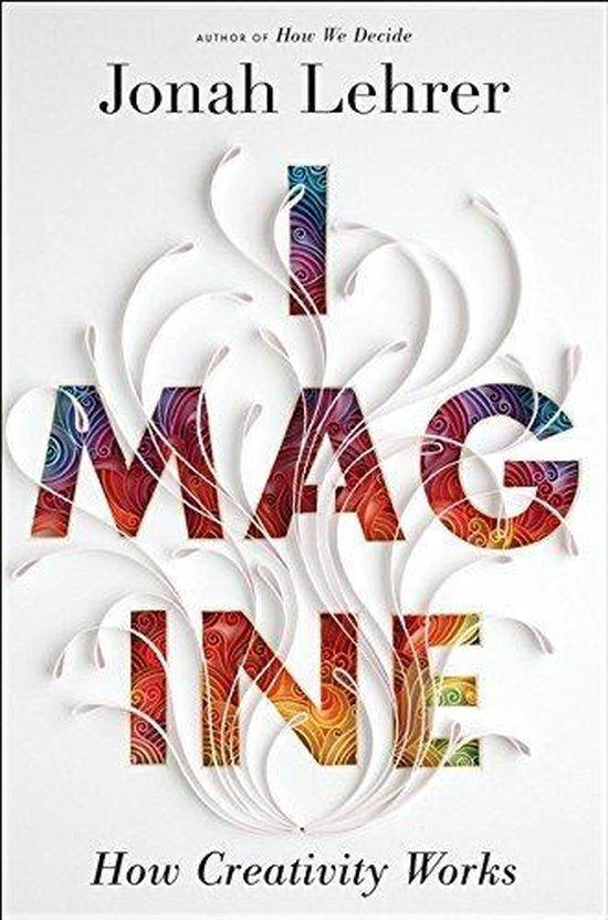 Boek cover Imagine van Jonah Lehrer