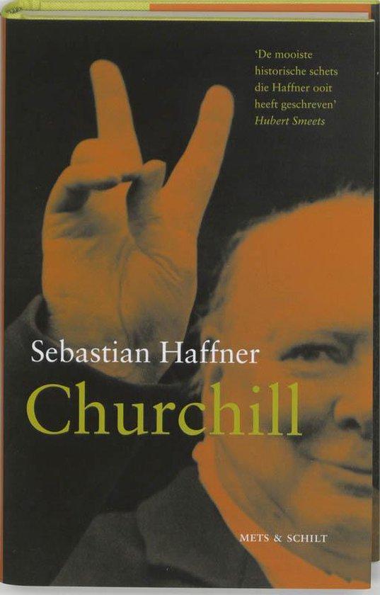 Boek cover Churchill van Sebastian Haffner (Hardcover)
