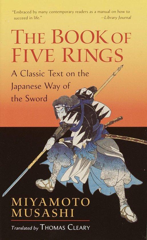 Boek cover The Book Of Five Rings van Miyamoto Musashi (Paperback)