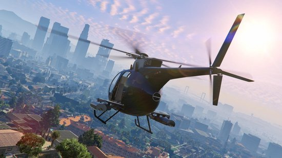 Grand Theft Auto V (GTA 5) - PS4 - Rockstar