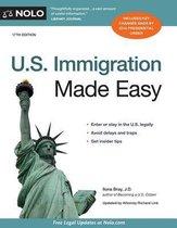 Boek cover U.S. Immigration Made Easy van Ilona Bray, J