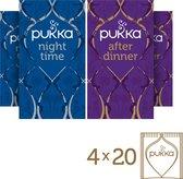 Pukka Kruidenthee Mix After Dinner + Original Thai - 80 theezakjes