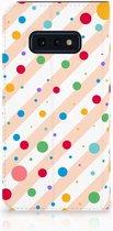 Samsung Galaxy S10e Standcase Hoesje Design Dots