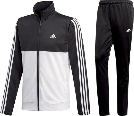 bol.com | adidas Back 2 Basics Trainingspak Heren - zwart/wit