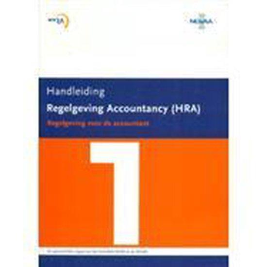 Handleiding Regelgeving Accountancy (HRA) - none  