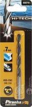 Piranha HI-TECH metaalboor 7mm X50718