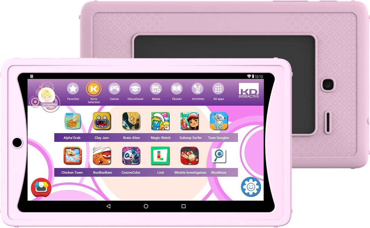 Kurio Tab Lite – 7 inch – Kindertablet – 8GB – Roze