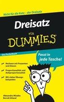 Dreisatz fur Dummies Das Pocketbuch