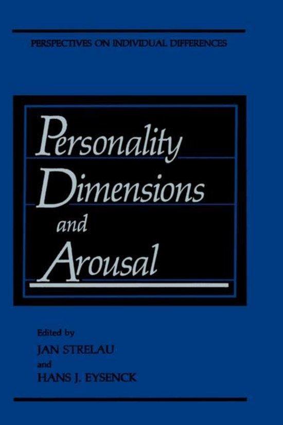 Boek cover Personality Dimensions and Arousal van Strelau (Hardcover)