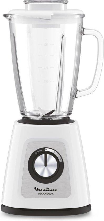 Moulinex Blendforce Glass LM430110 - Blender - Wit