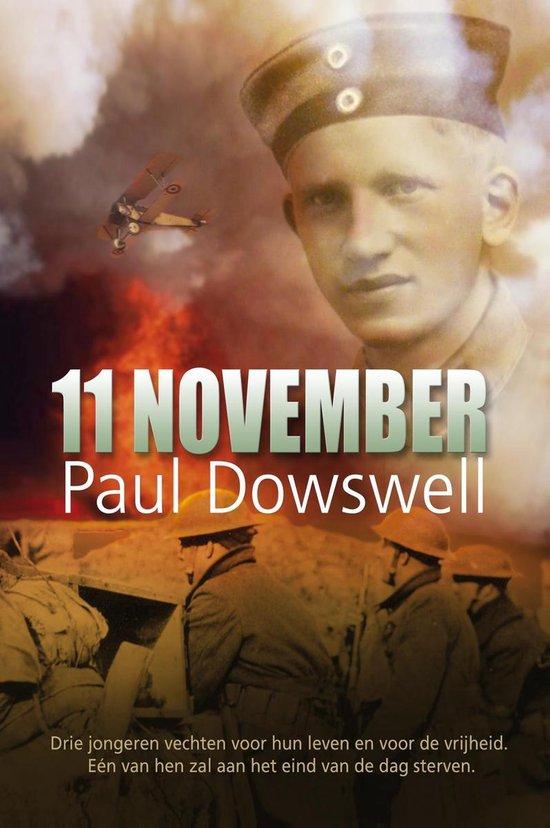 Cover van het boek '11 november' van Paul Dowswell