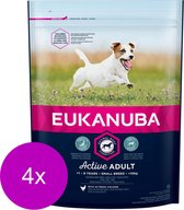 Eukanuba Adult Small Breed Kip - Hondenvoer - 4 x 1 kg